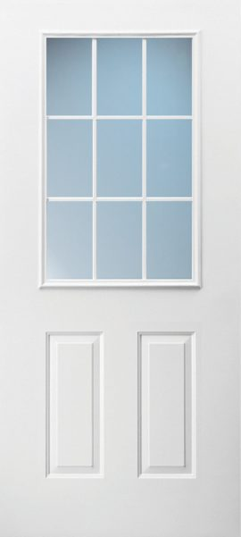 2 Panel 1/2 Lite Colonial 9L