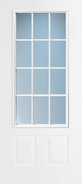 2 Panel 3/4 Lite Colonial 12L