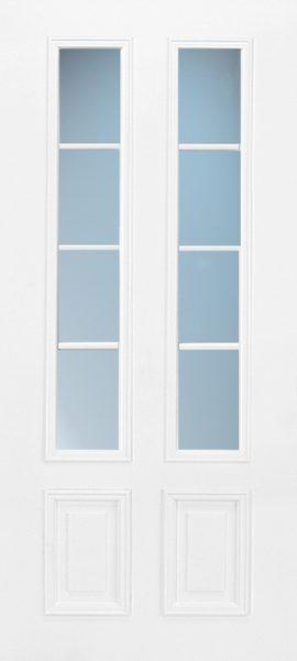 2 Panel 3/4 Lite 4L Colonial