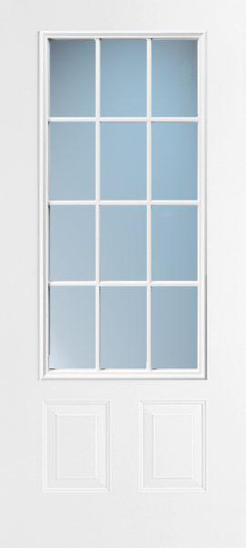 2 Panel 3/4 Lite 12L Colonial