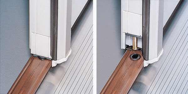 Etonnant On French Double Door Systems, Astragals Are Locked And Unlocked With  Fingertip Adjustments.