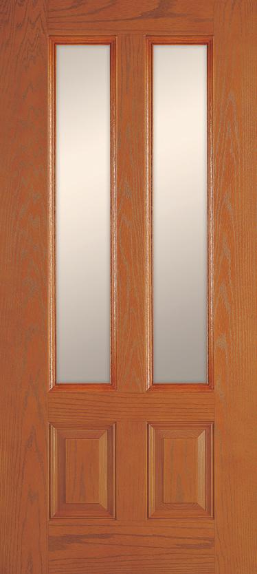 2 Panel Twin 3/4 Lite & Entry System Styles - Wincore Windows u0026 Doors