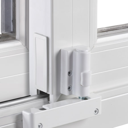 As an added security measure, Patio Doors can be ordered with an optional  heavy-duty durable footbolt. These effective vent-stops prevent the door  from ... - Pd-footlock - Wincore Windows & Doors