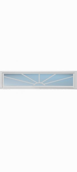 Rectangle Transom 7L Sunburst