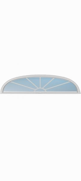 Ellipse Transom Sunburst 7L