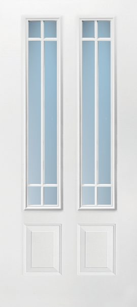 2 Panel Twin 3/4 Lite 6L Prairie