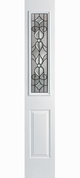 Smooth White 1/2 Sidelite with Renfield glass