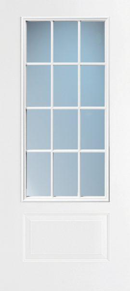 1 Panel 3/4 Lite 12L Colonial